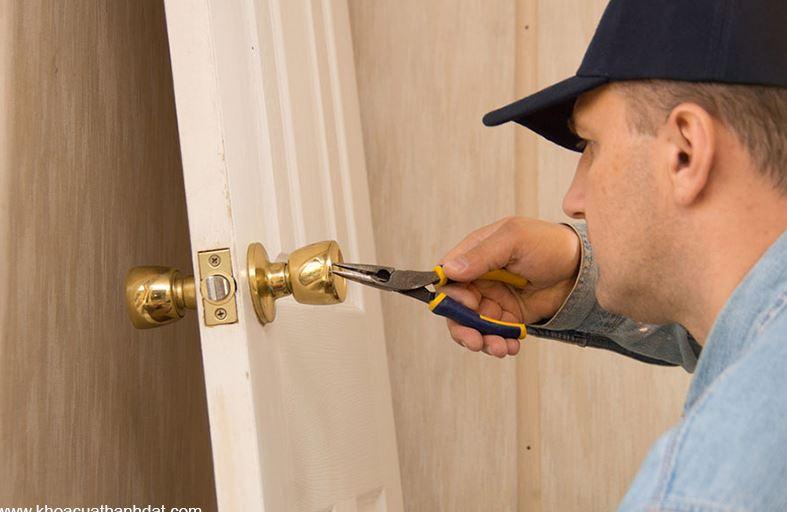 Hướng dẫn sửa ổ khóa