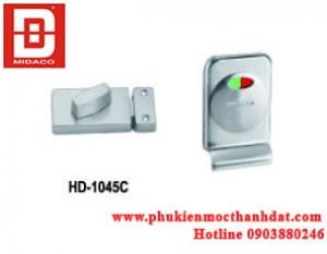 KHÓA CỬA VÁCH NGĂN TOILET HD-1045C