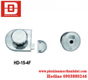 KHÓA CỬA VÁCH NGĂN TOILET HD-15-4F